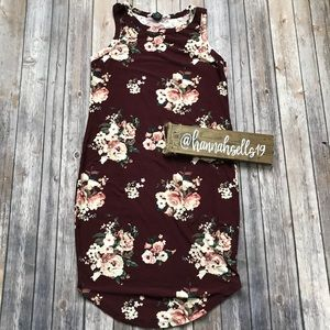 Rue 21 Floral Midi Dress Size Large